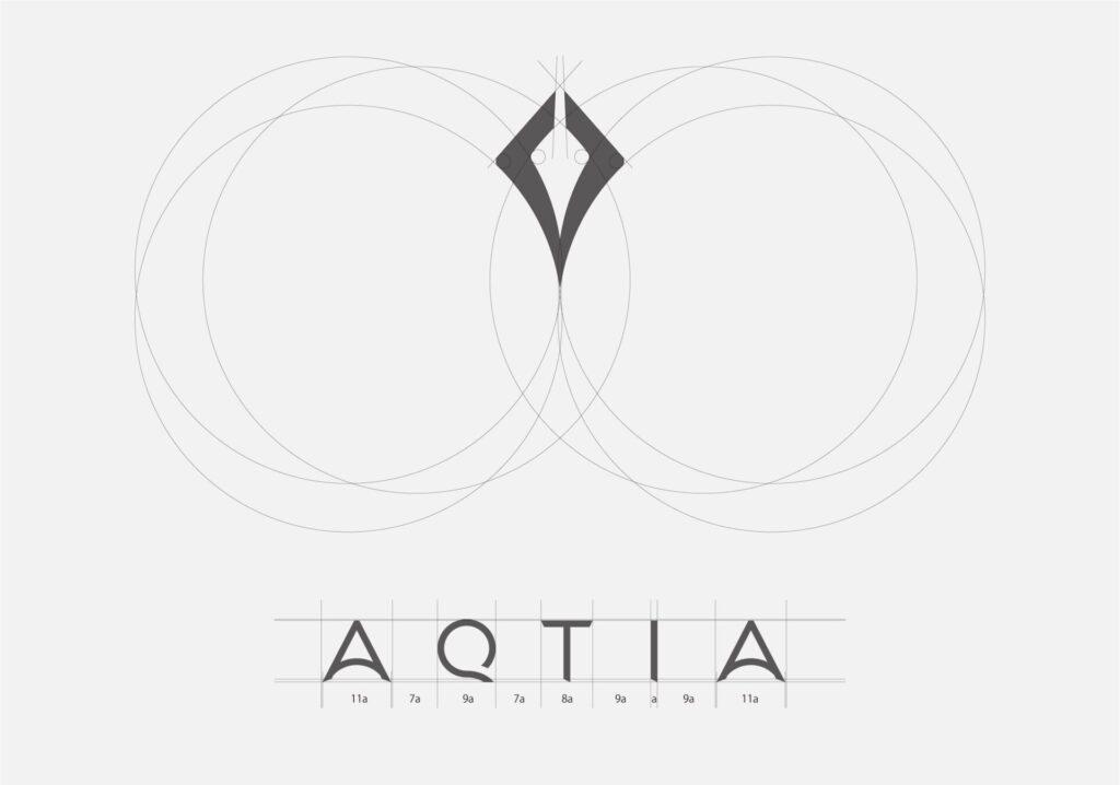 ロゴの設計の画像