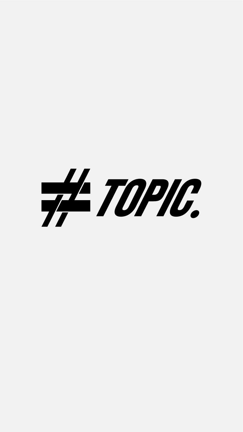 「TOPIC」のサムネイル画像